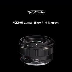 Voigtlander Announce New Full-Frame 35mm f/1.4 Prime for Sony E mount