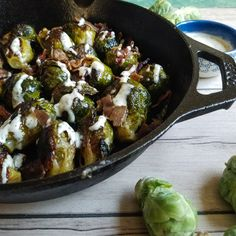 PAN FRIED WHOLE BRUSSELS SPROUTS