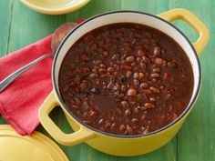 Recipe of the Day: Barbecue Baked Beans The beans get their smoky flavor from a whole cup of barbecue sauce, thick molasses and leftover barbecued meat.