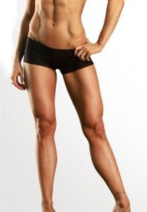 Great legs and abs. I just want those asap :) Girl know her 'job'…