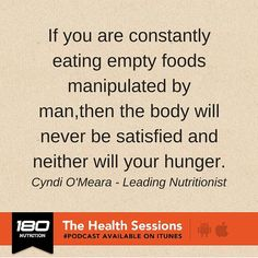Where are we going wrong with nutrition? Sneaky food labelling and what the food industry is not telling you & simple nutrition tips that make a huge, positive difference to health. Just a few reasons to check out this podcast with nutritional expert Cyndi O'Meara from Changing Habits.