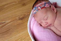 """8 days new Baby Phoebe in her Rock the Bump """"Baby's First Home"""" belly bowl - June 2016 (image created by Maxine Davies Photography)"""