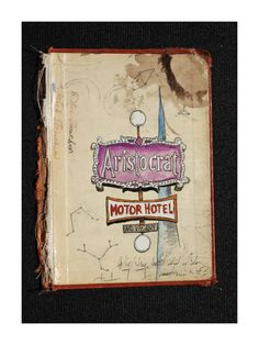 Jax Quackenbush Colfax Sideshow series  vintage denver motel sign
