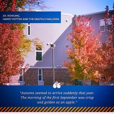 Fall thoughts from #UNK! What a beautiful day to be alive!