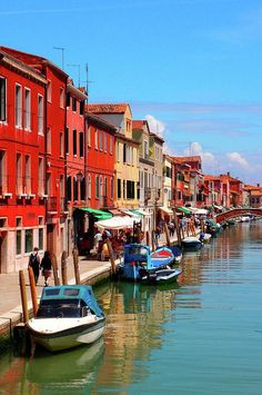 Murano, Italy - These houses are the cutest things I have ever seen. I would love to go back!