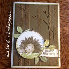 Painted Harvest- Stampin' Up! Making Greeting Cards, Greeting Cards Handmade, Stampin Up Christmas, Christmas Cards, Sunflower Cards, Embossed Cards, Flower Stamp, Stamping Up Cards, Thanksgiving Cards