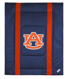 ATHLEZ - Auburn Tigers Sidelines Comforter Full/Queen