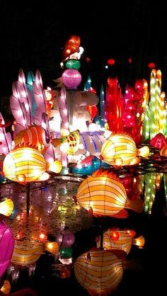 The Chinese Lantern Festival in Dallas Texas