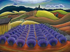Jane Aukshunas: Oregon Landscape Artist | Contemporary Oil Pastels