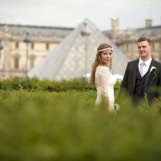 suggest some of the most beautiful locations where you could possibly have an outside ceremony in Paris. Square Jean XXIII behind Notre Dame...