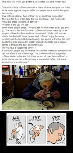 So touched. I'm going to do this.