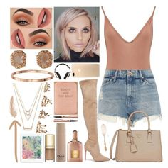 """""""// Take Me To Cancún //"""" by kokoxx on Polyvore featuring Boohoo, River Island, Kendall + Kylie, Prada, Forever 21, Tom Ford, Chloé, Dolce&Gabbana, Pryma and Conran"""