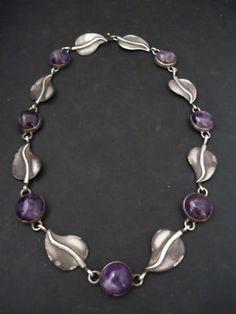 Antonio Pineda~ Silver & Amethyst Necklace