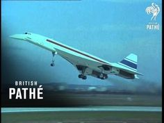 Concorde Take-Off (1969) - YouTube