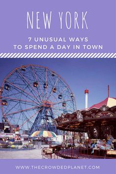 7 unusual ways to spend a day in New York, NYC 1 day, things to do in New York in 1 day