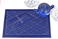 learn how to sashiko stitch kit