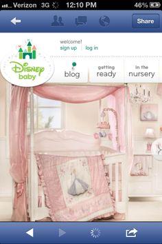 Princess nursery by Disney.. This is going to be Bella's nursery :-)