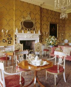 Drawing Room - Dyrham Park Gloucestershire, a baroque country house
