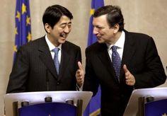 Al via le trattative tra Unione Europea e Giappone per creare una zona di libero scambio