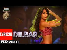 "Gulshan Kumar and T-Series in association with Emmay Entertainment present the lyrical video 'Dilbar"" sung by Neha Kakkar, Dhvani Bhanushali, Ikka, music given by Tanishk Bagchi and lyrics are penned by Shabbir Hindi Bollywood Songs, New Hindi Songs, Hit Songs, News Songs, Music Songs, Dance Video Song, Dance Videos, New Lyrics, Song Lyrics"