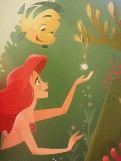 Ariel e a coleção