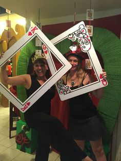 """My own props: red queen """"unbirthday """" photo booth. my own props: red queen """"unbirthday """" photo booth casino party decorations Fète Casino, Casino Party Games, Casino Party Decorations, Casino Night Party, Casino Theme Parties, Party Themes, Ideas Party, Birthday Decorations, Wedding Themes"""