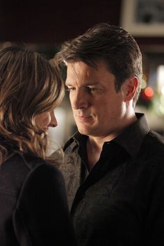 Castle & Beckett - I love the way he looks at her...