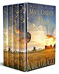 Mail Order Bride 4 Book Box Set Sweet Clean Historical Western Mystery