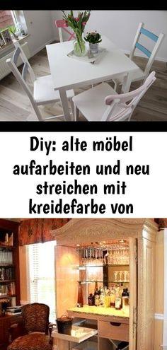 Diy Alte Mobel Aufarbeiten Und Neu Streichen Mit Kreidefarbe Von Rust Oleum Farbenfrohes Make 388 Decor Home Decor Furniture