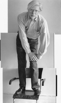 Andy Warhol photo by Christopher Makos