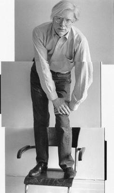 Andy Warhol ph Christopher Makos