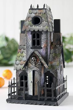 Tim Holtz Village Dies: Haunted Mansion