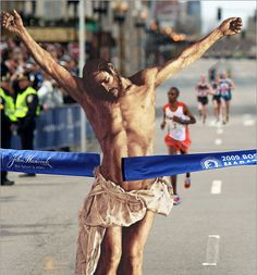 Jesus With A Come-From-Behind Victory In The Boston Marathon