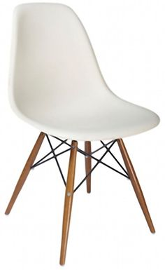 The Eames Eiffel Chair Eames Eiffel Chair, Eames Dining Chair, Outdoor Dining Chairs, White Furniture, Modern Furniture, Living Room Chairs, Dining Room, Side Chairs, Design