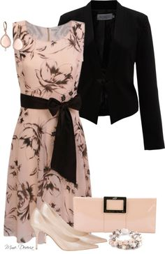 """""""Think pink"""" by madamedeveria on Polyvore"""