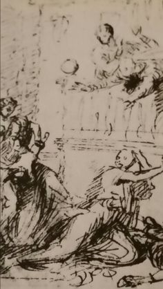 MEDEA KILLS HIS SONS. pen and bistro. 16 × 16,7 cm. Windsor Castle. The Royal Library. Inv. No. 11 892. Nicolas Poussin, Windsor Castle, Anatomy, Sons, Abstract, Artwork, Summary, Work Of Art, Auguste Rodin Artwork