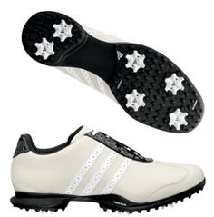 adidas Women's Driver Val S Golf Shoe - Dick's Sporting Goods Love these! Now if only I could golf haha Girls Golf, Ladies Golf, Womens Golf Wear, Women Drivers, Toms Shoes Outlet, Its A Mans World, Shoe Show, Golf Accessories, Golf Fashion