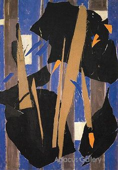 "Lee Krasner ""Blue Level"" 1955"