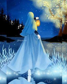 23 best art casual animasi hijab - my ely Muslim Images, Muslim Pictures, Islamic Pictures, Love Cartoon Couple, Girl Cartoon, Moslem, Hijab Drawing, Islamic Cartoon, Islamic Paintings