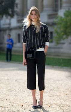 Paris Street Style Spring 2014 Camille Charriere in a Stella McCartney sweater
