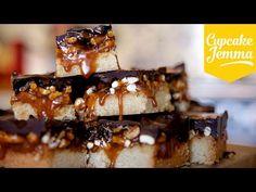 ▶ Trillionaires Shortbread Recipe | Cupcake Jemma - YouTube
