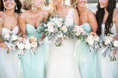 Summer Wedding Ideas Sea Glass Blue Weddings Floral + Event Design: www.emilyburtondesign.com Photography: Ashley Steeby (Jacksonville Fl) Venue: Villa De Suenos, St. Simons Island St. Simons Island Weddings
