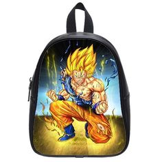 Fashion Style Dragon Ball Z Goku Custom Student School Backpack Bag Shoulder Bag Large -- More info could be found at the image url.