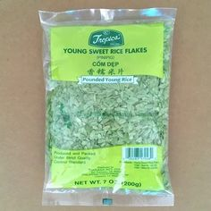 Com dep - green young rice Rice Flakes, Larder, Sweet, Candy
