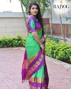 Style Array Present Beautiful Multi Color Embroidered Branded Silk Cotton Saree . Buy This Attractive Look Beautiful Multi Color Embroidered Branded Silk Cotton Saree Pattu Saree Blouse Designs, Blouse Designs Silk, Designer Blouse Patterns, Bridal Blouse Designs, Lehenga Blouse, Designer Dresses, Simple Blouse Designs, Stylish Blouse Design, Sleeves Designs For Dresses