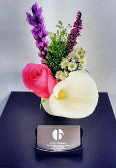 #salon #salonbeau #thesalonbeau #flowers #flowersoftheweek #new #year #purple #pink #white #yellow #rose #lilly #greens