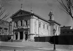 Igreja dos Anjos, fachada, 1911, foto de Joshua be
