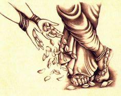 Lotus feet Krishna Leela, Krishna Hindu, Radha Krishna Love Quotes, Radha Krishna Pictures, Radha Krishna Photo, Krishna Images, Radhe Krishna, Lord Krishna, Hindu Deities
