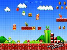 Super Mario HQ by xXLightsourceXx on DeviantArt Super Mario Coloring Pages, Perler Bead Mario, Pig Birthday Cakes, Mario Brothers, Retro Video Games, Creative Instagram Stories, Super Mario Bros, Pixel Art, Nerd