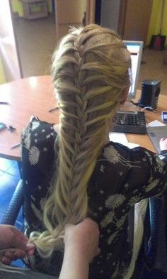 Hey I made this braid before I saw it on pinterest.